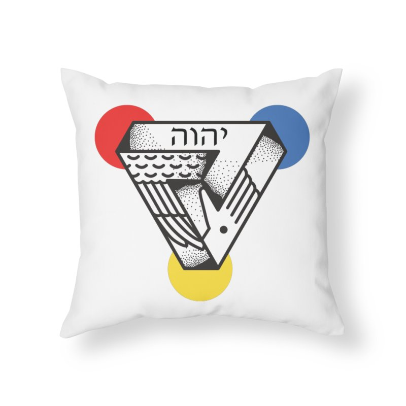 Triune Home Throw Pillow by Steger
