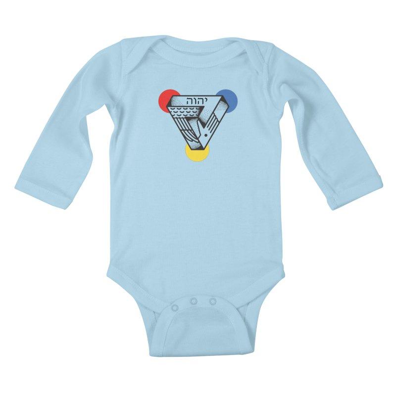 Triune Kids Baby Longsleeve Bodysuit by Steger