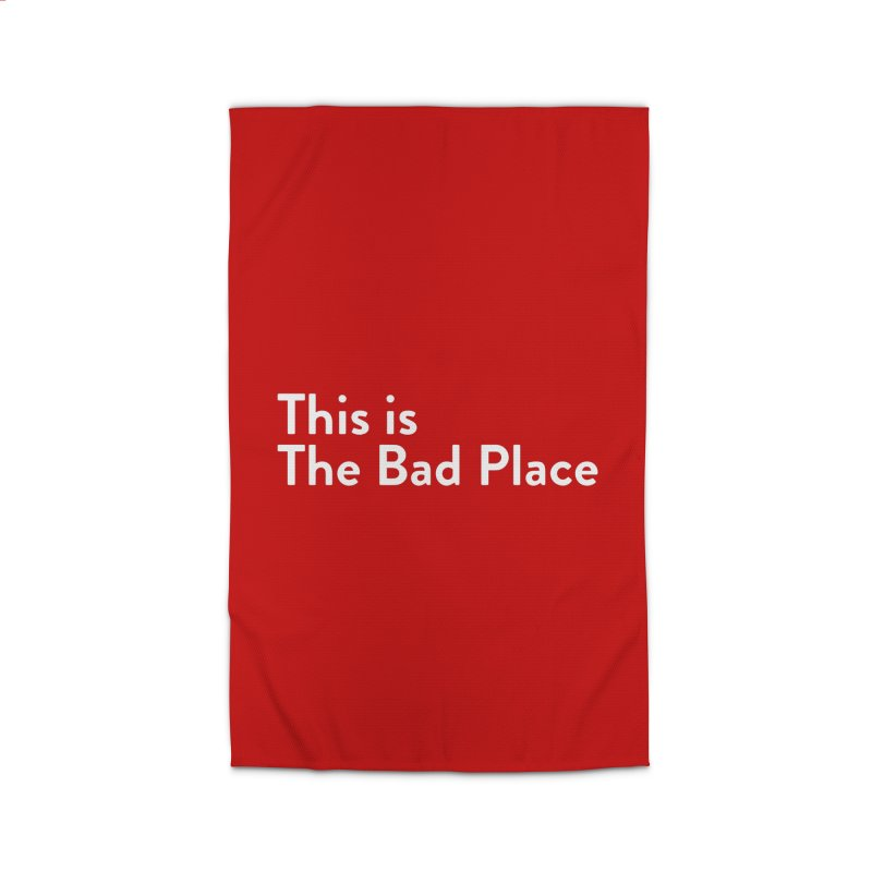 This is the Bad Place Home Rug by Steger