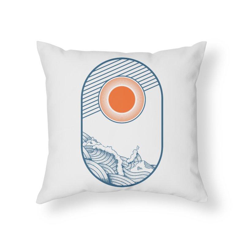 Sun Struck Home Throw Pillow by Steger