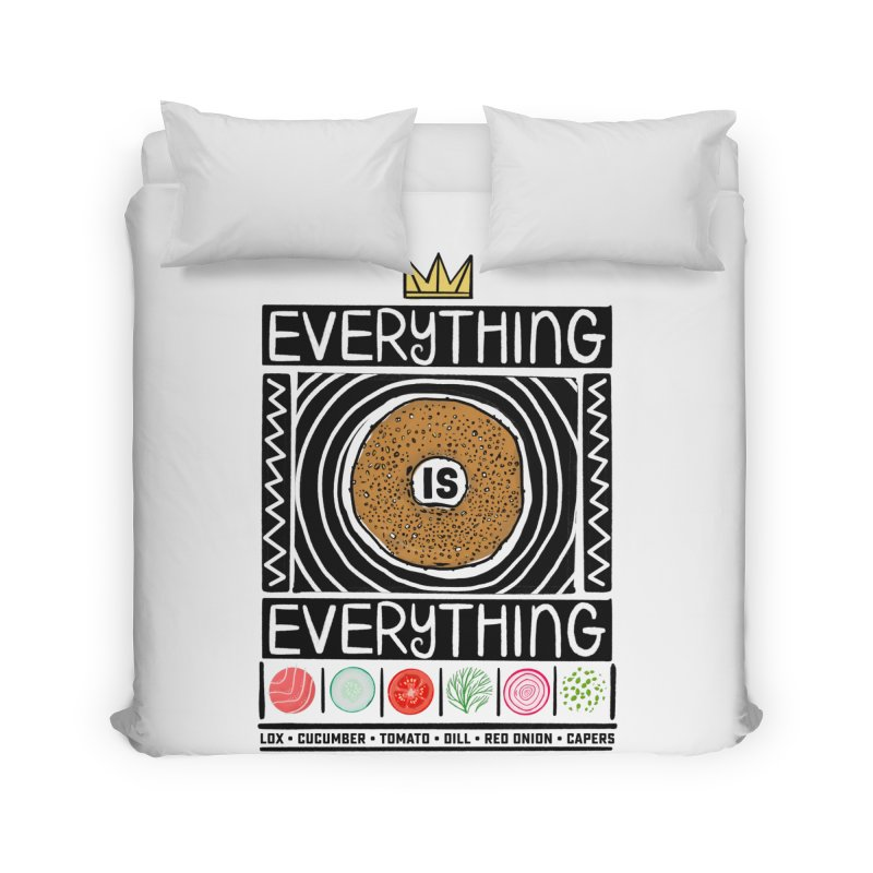 Everything is Everything Home Duvet by Steger