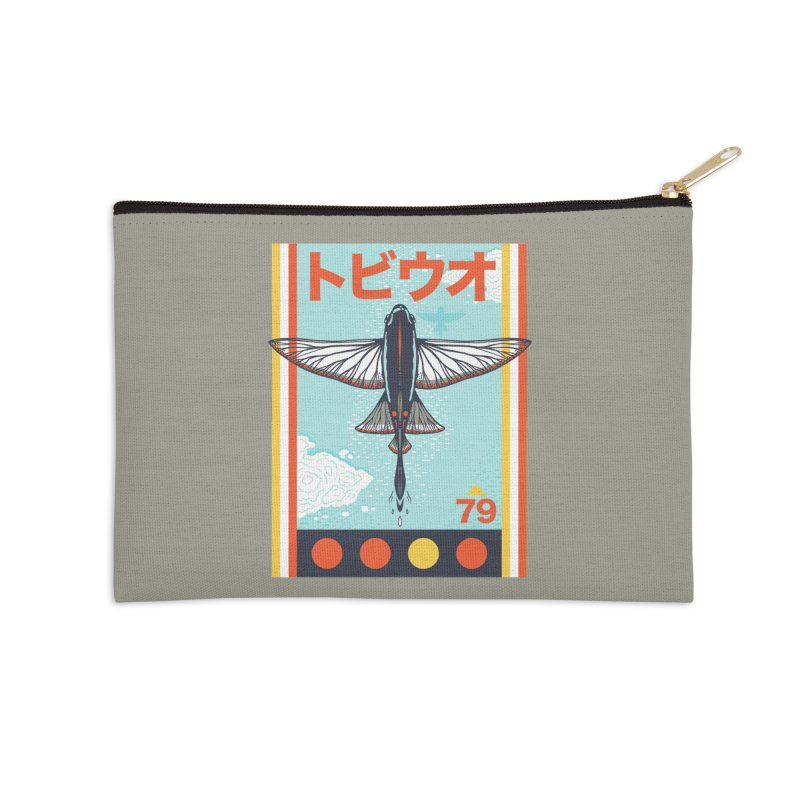 Flying Fish Accessories Zip Pouch by Steger