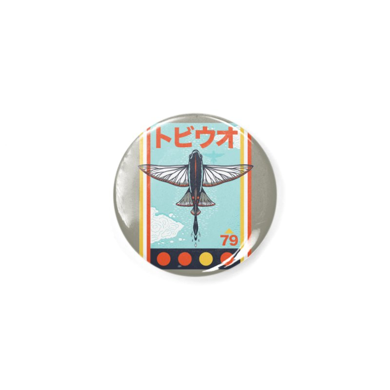 Flying Fish Accessories Button by Steger
