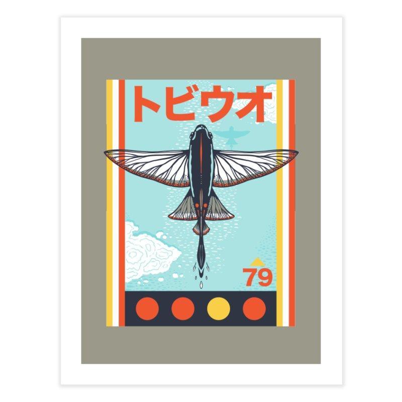 Flying Fish Home Fine Art Print by Steger