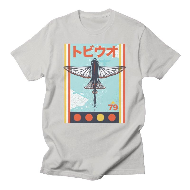 Flying Fish Men's T-Shirt by Steger