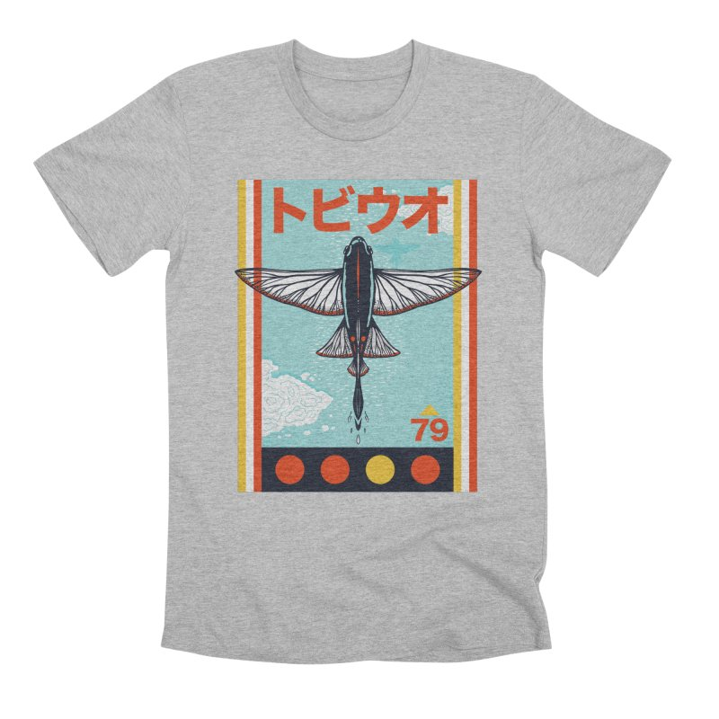 Flying Fish Men's T-Shirt by Steger