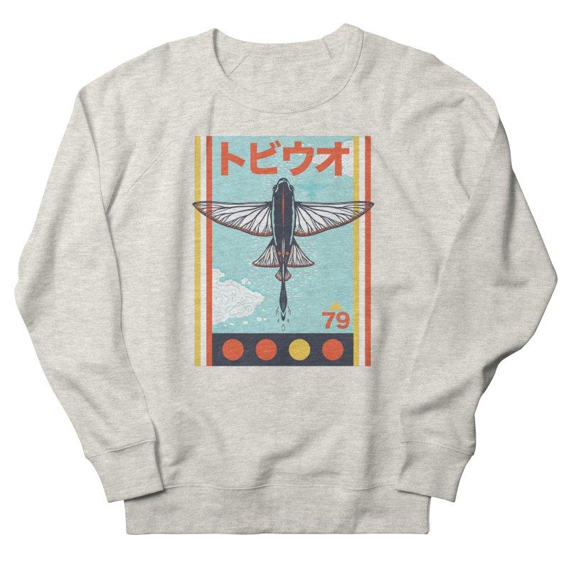 Flying Fish Men's Sweatshirt by Steger