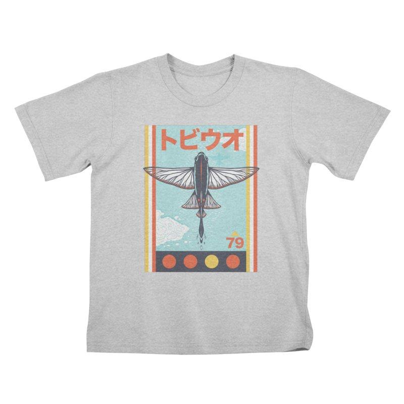 Flying Fish Kids T-Shirt by Steger