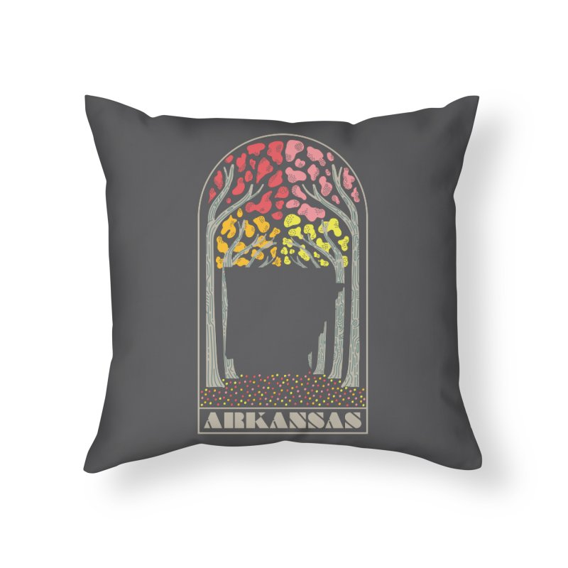 Arkanfall Home Throw Pillow by Steger