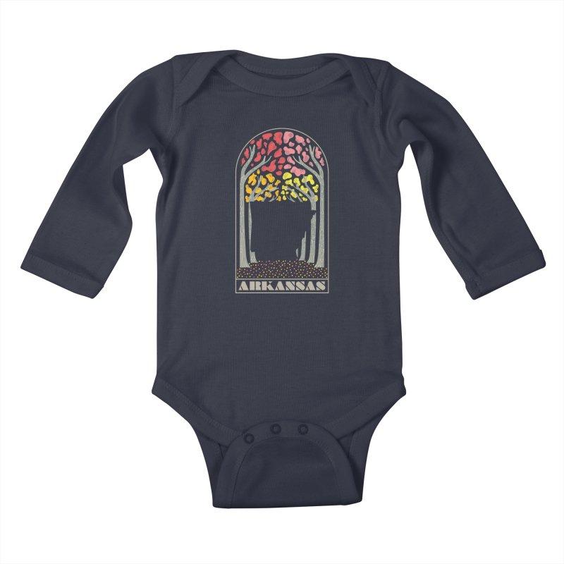 Arkanfall Kids Baby Longsleeve Bodysuit by Steger