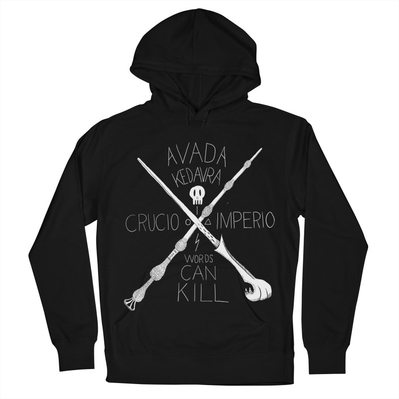Words Can Kill Women's Pullover Hoody by Steger
