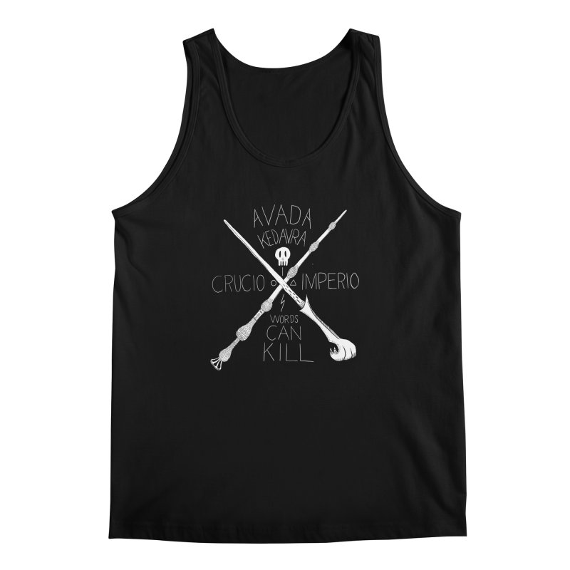 Words Can Kill Men's Tank by Steger