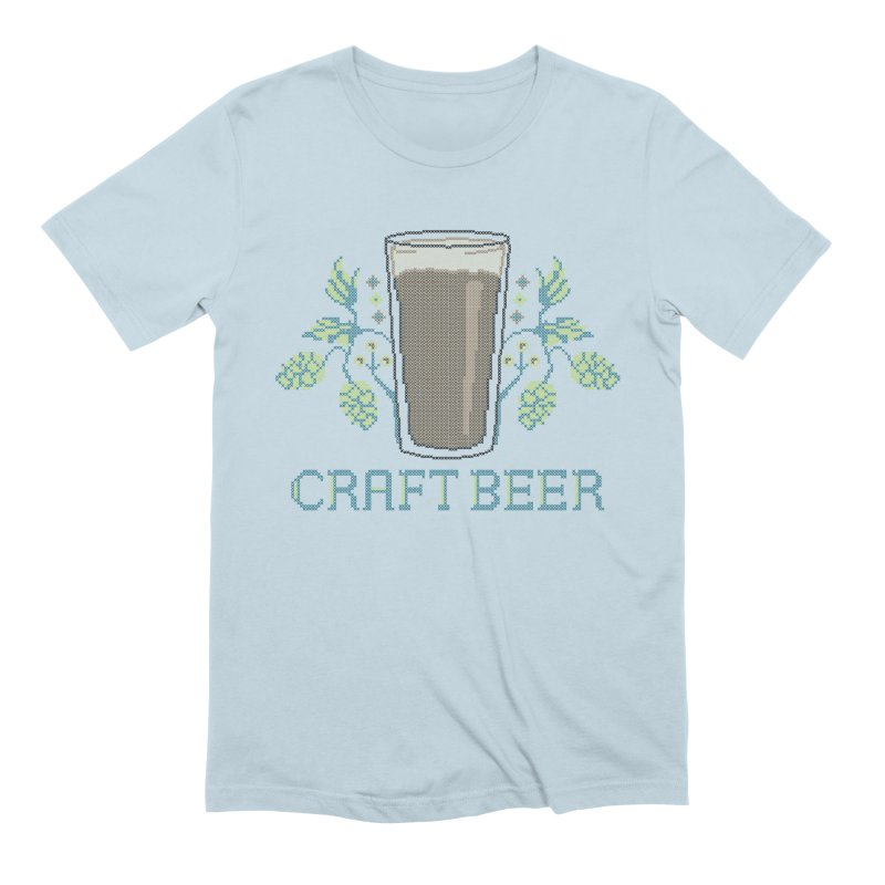 Craft Beer Men's Extra Soft T-Shirt by Steger