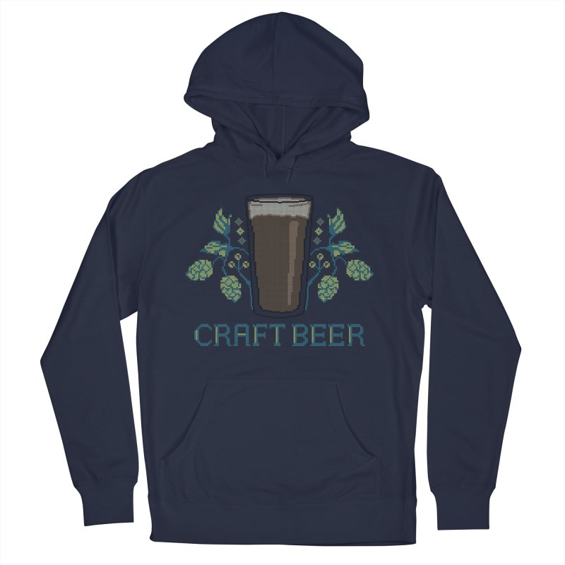 Craft Beer Women's French Terry Pullover Hoody by Steger