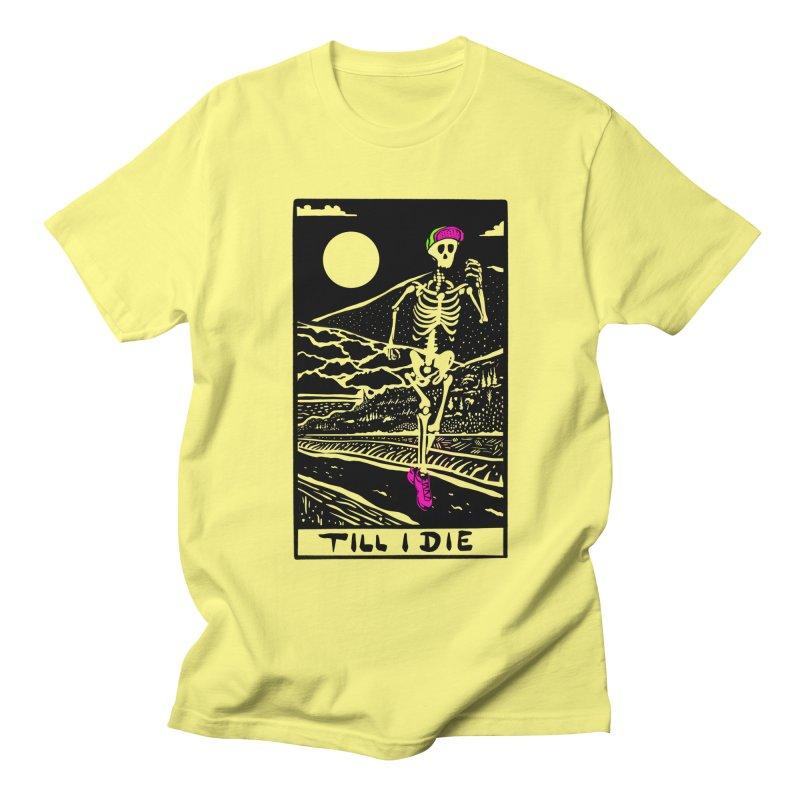 Running Till I Die Men's T-Shirt by Steger