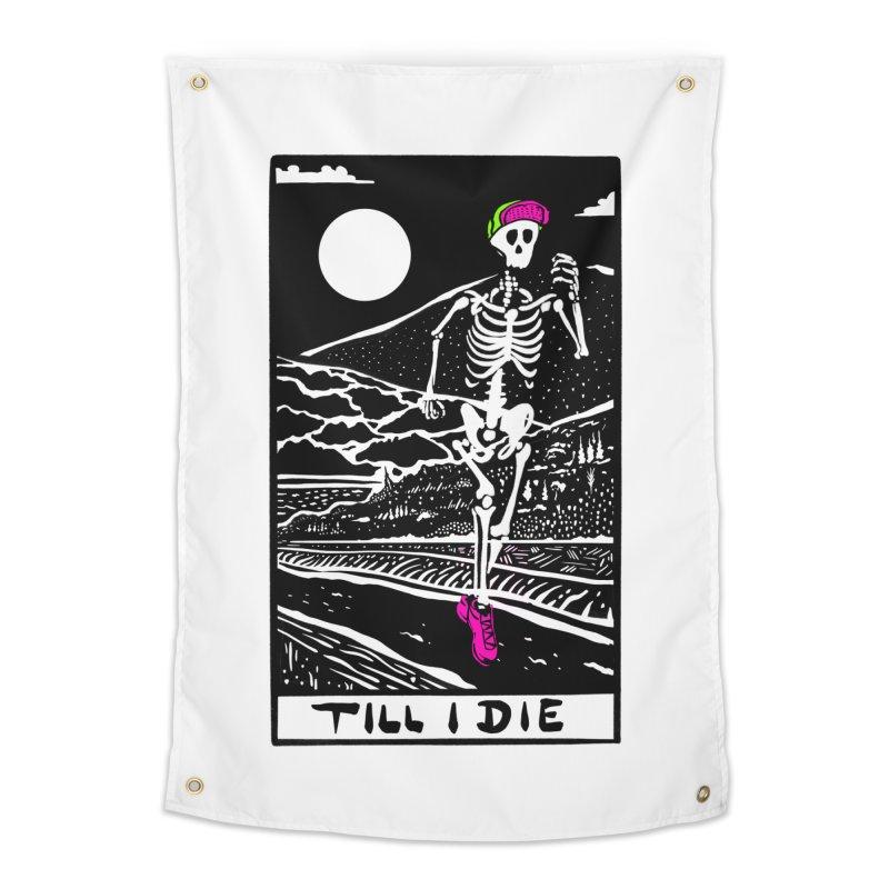Running Till I Die Home Tapestry by Steger