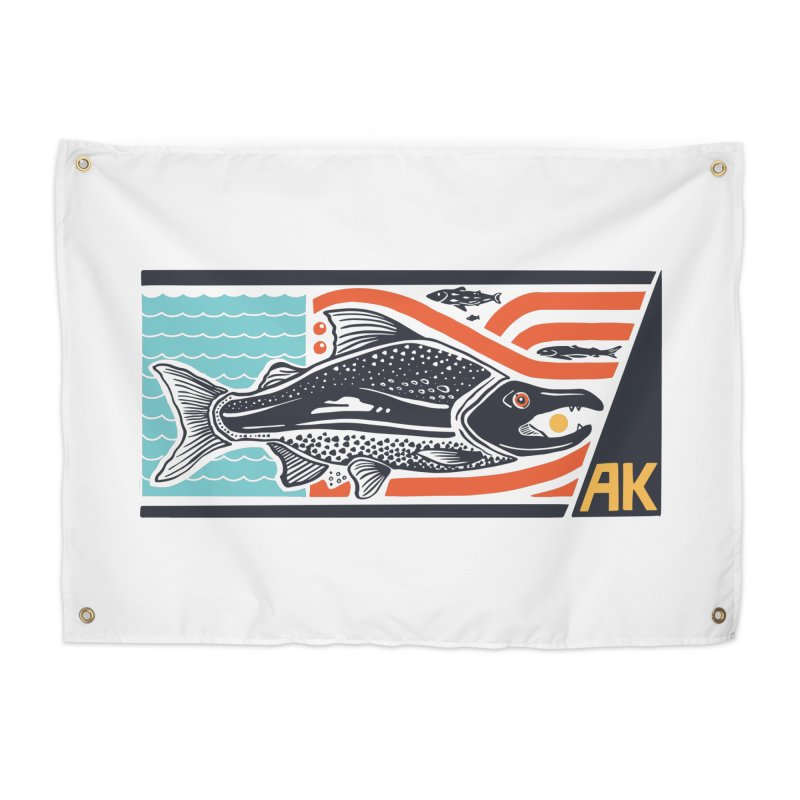 Alaska Home Tapestry by Steger