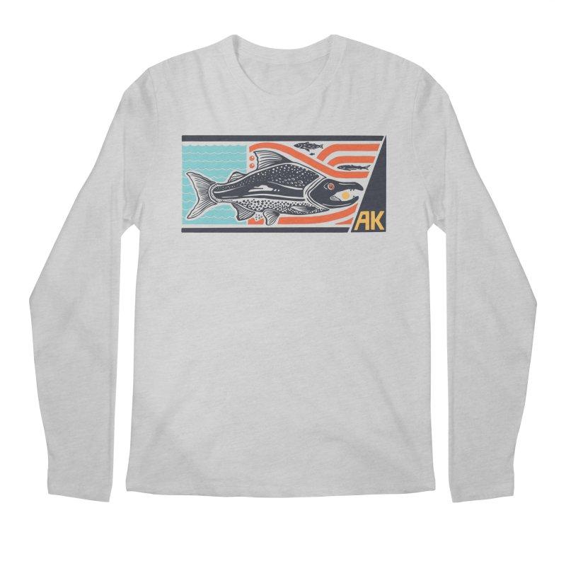 Alaska Men's Longsleeve T-Shirt by Steger