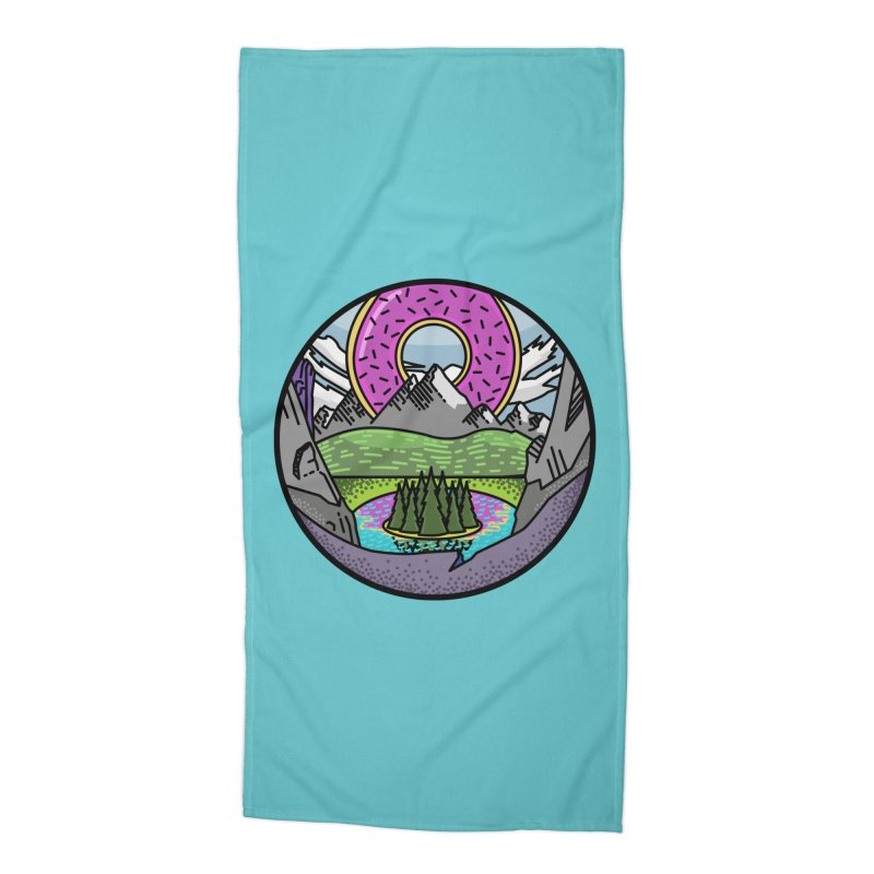 Donut National Park Accessories Beach Towel by Steger