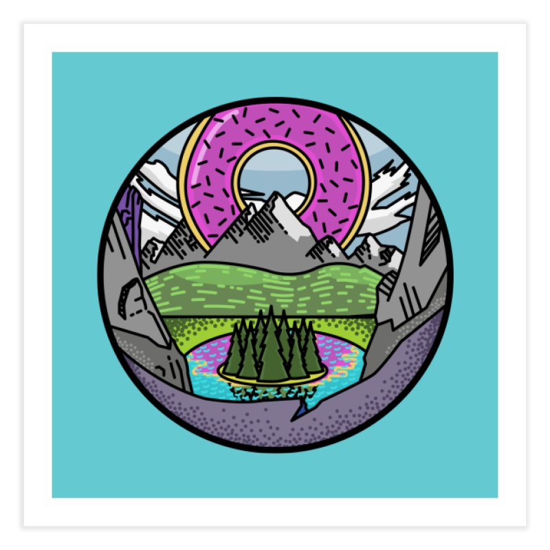 Donut National Park Home Fine Art Print by Steger