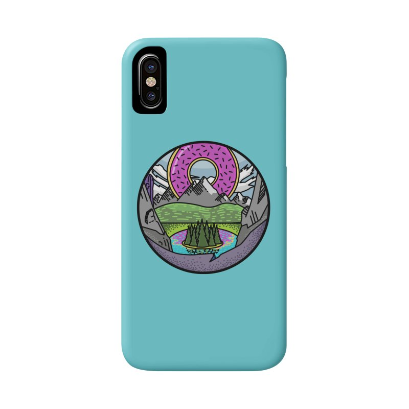 Donut National Park Accessories Phone Case by Steger