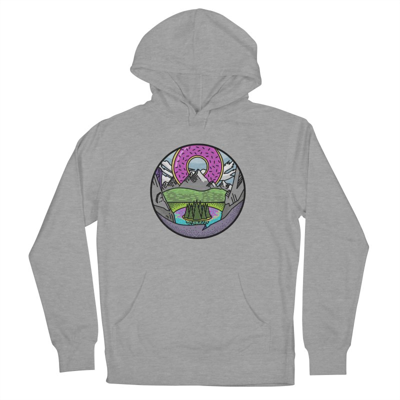 Donut National Park Men's French Terry Pullover Hoody by Steger