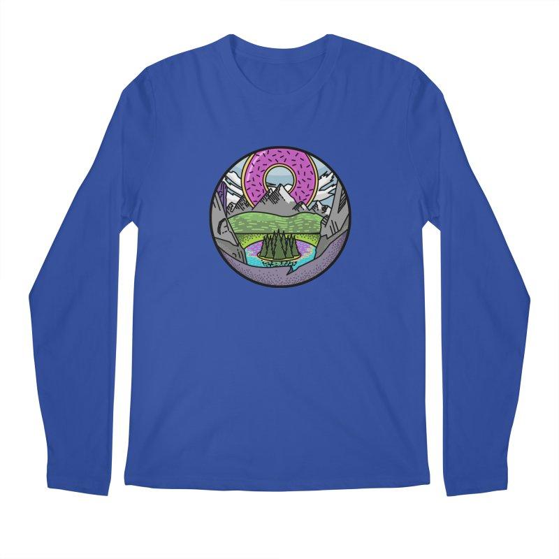 Donut National Park Men's Regular Longsleeve T-Shirt by Steger