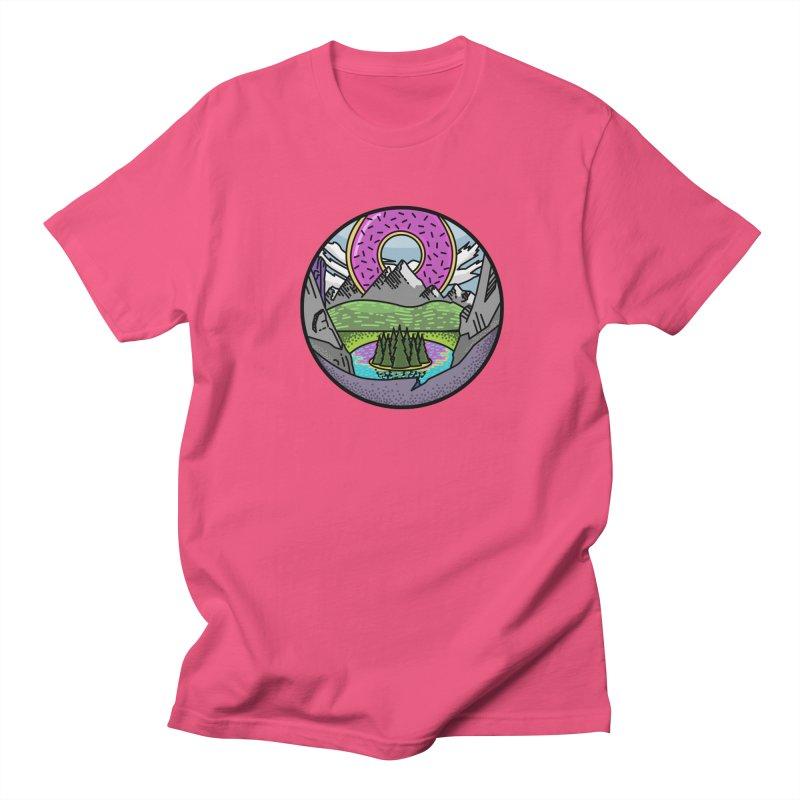 Donut National Park Women's Regular Unisex T-Shirt by Steger