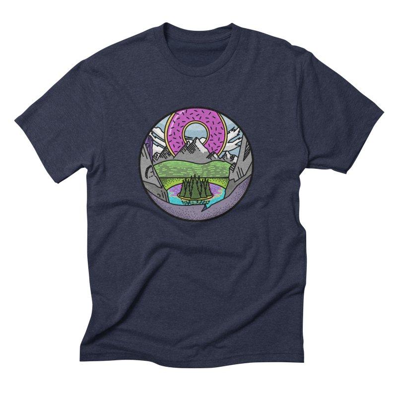 Donut National Park Men's Triblend T-shirt by Steger