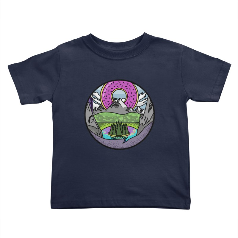 Donut National Park Kids Toddler T-Shirt by Steger