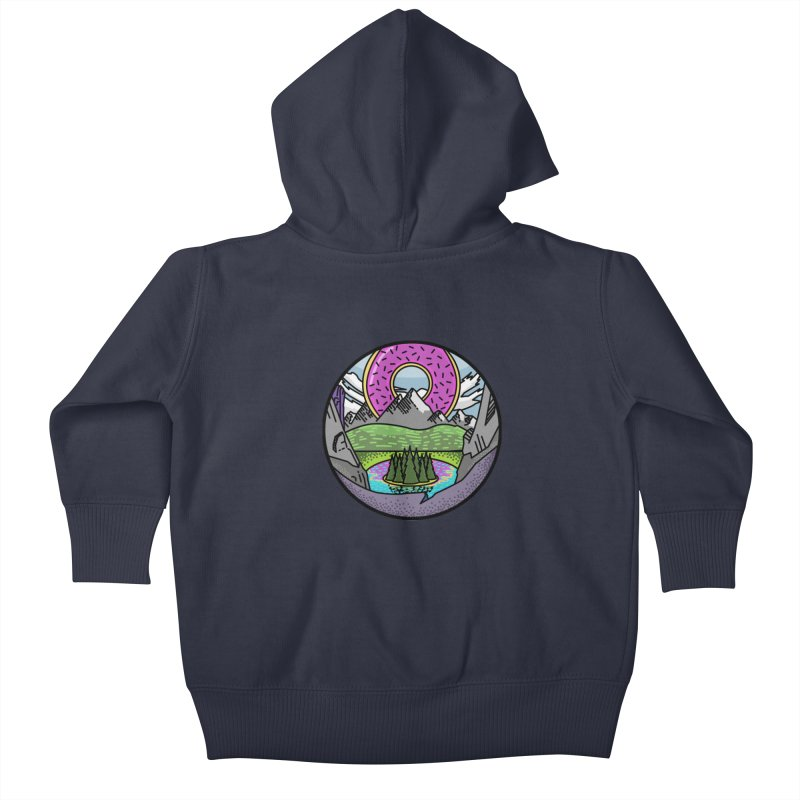 Donut National Park Kids Baby Zip-Up Hoody by Steger