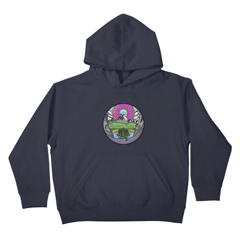 Donut National Park Kids Pullover Hoody by Steger