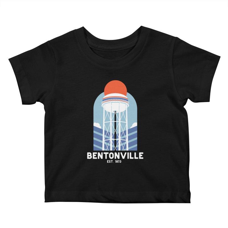 Bentonville Kids Baby T-Shirt by Steger