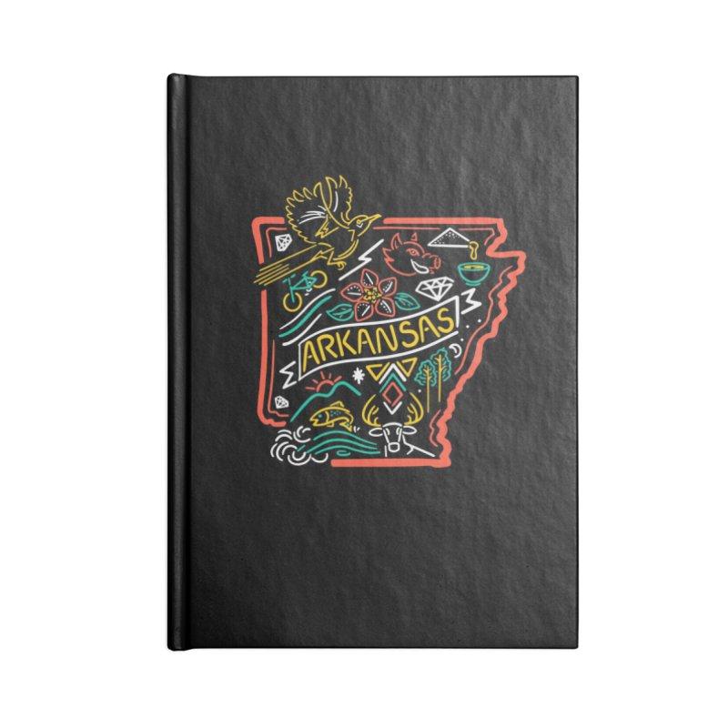Arkansas Neon Accessories Notebook by Steger