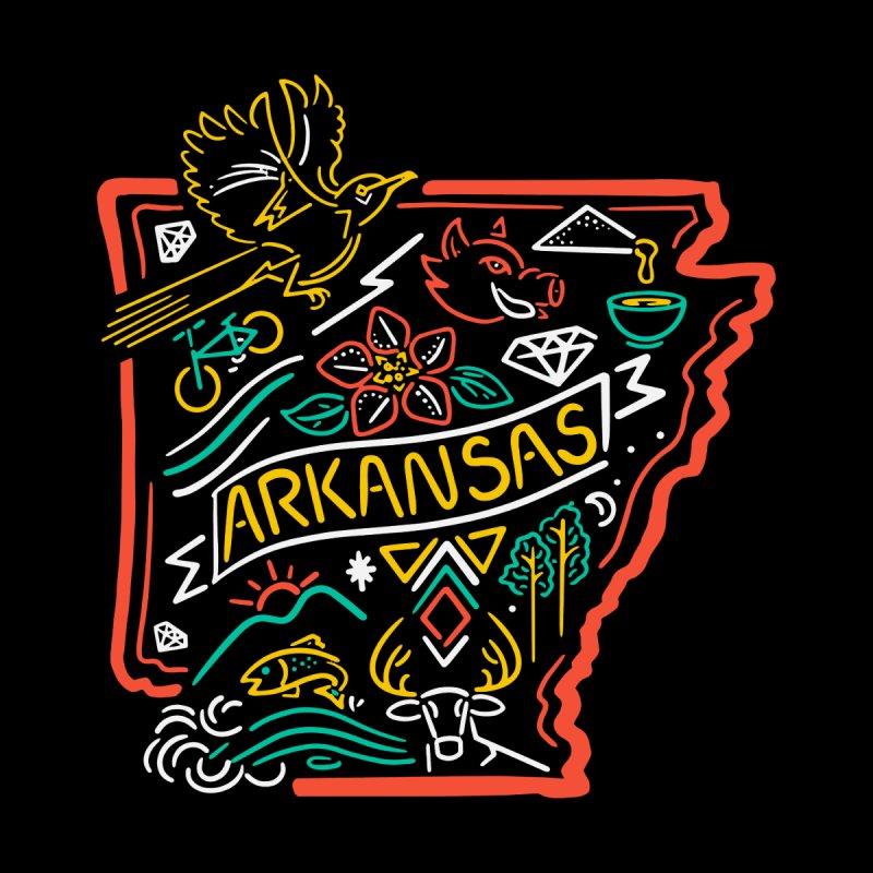 Arkansas Neon Accessories Neck Gaiter by Steger