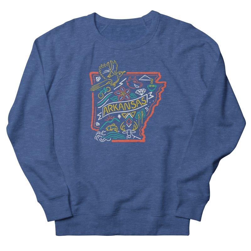 Arkansas Neon Men's Sweatshirt by Steger