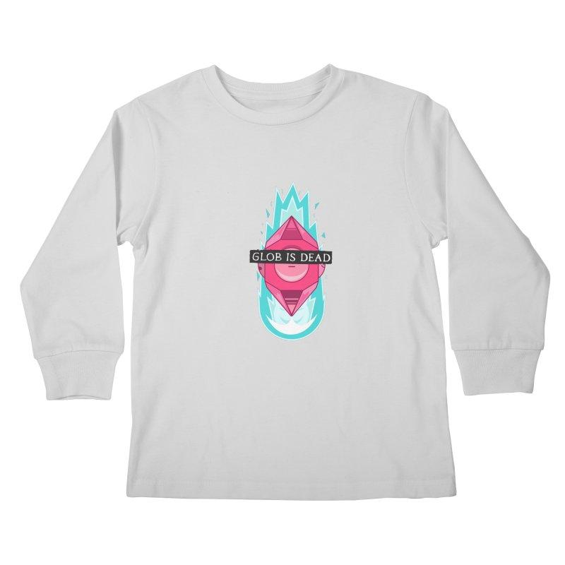 Glob is Dead Kids Longsleeve T-Shirt by Steger