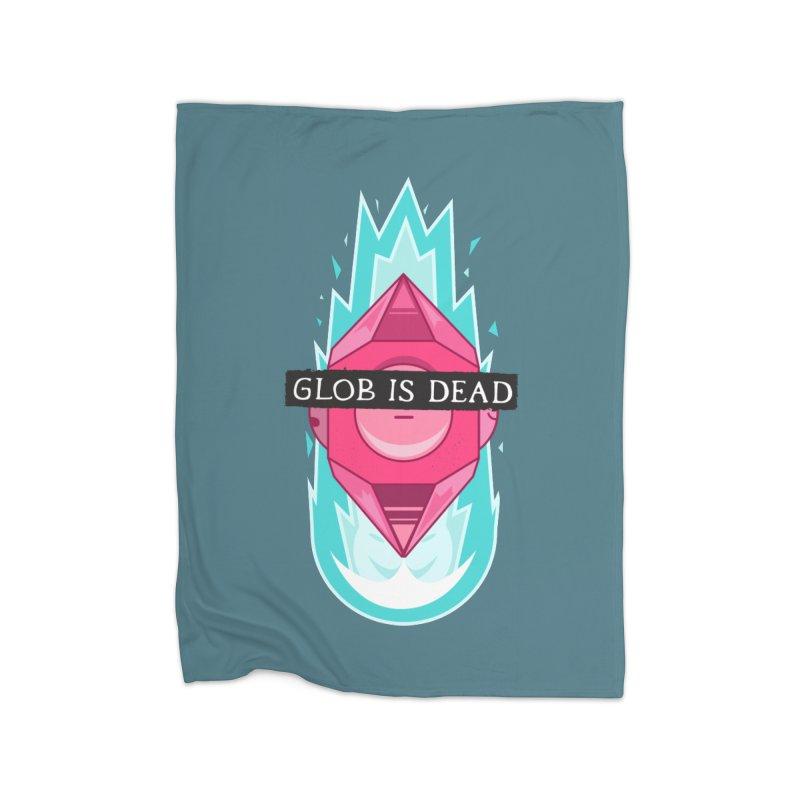Glob is Dead Home Blanket by Steger