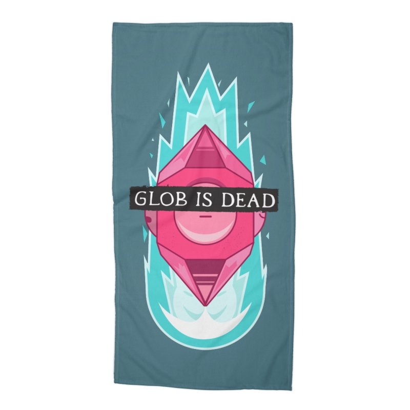 Glob is Dead Accessories Beach Towel by Steger