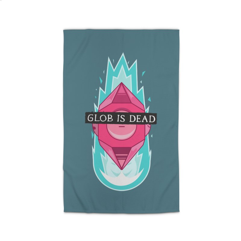 Glob is Dead Home Rug by Steger