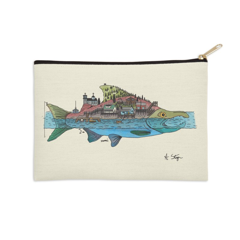 Seldovia Accessories Zip Pouch by Steger