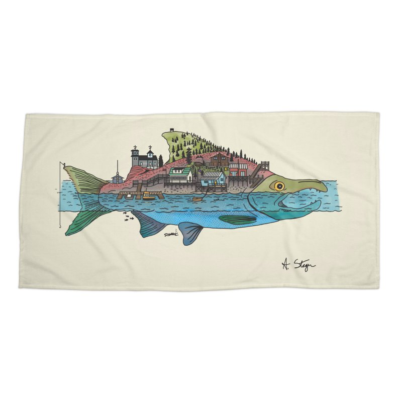 Seldovia Accessories Beach Towel by Steger