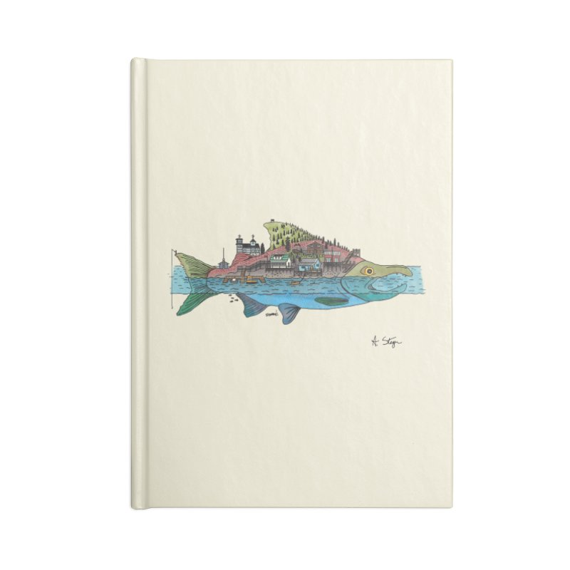 Seldovia Accessories Blank Journal Notebook by Steger