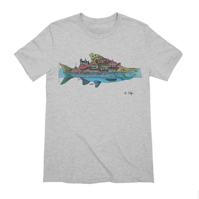 Seldovia Men's Extra Soft T-Shirt by Steger