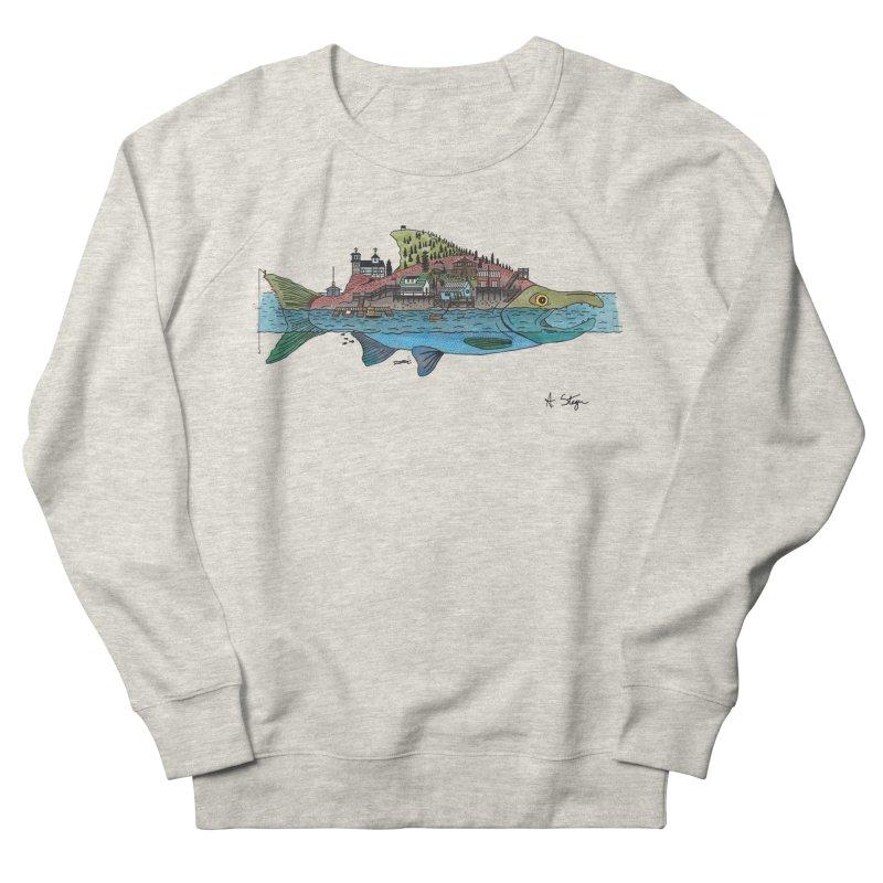 Seldovia Men's French Terry Sweatshirt by Steger