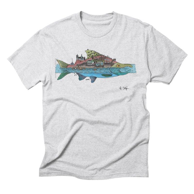 Seldovia Men's Triblend T-Shirt by Steger