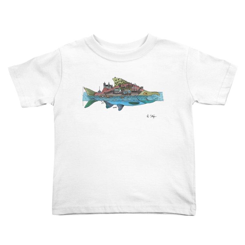 Seldovia Kids Toddler T-Shirt by Steger