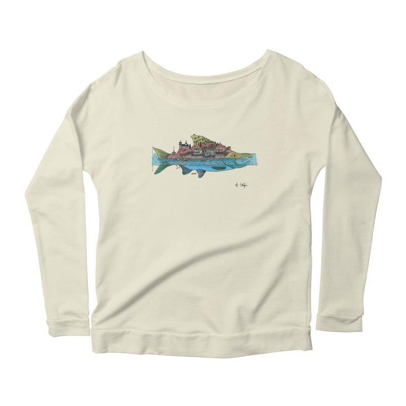 Seldovia Women's Scoop Neck Longsleeve T-Shirt by Steger