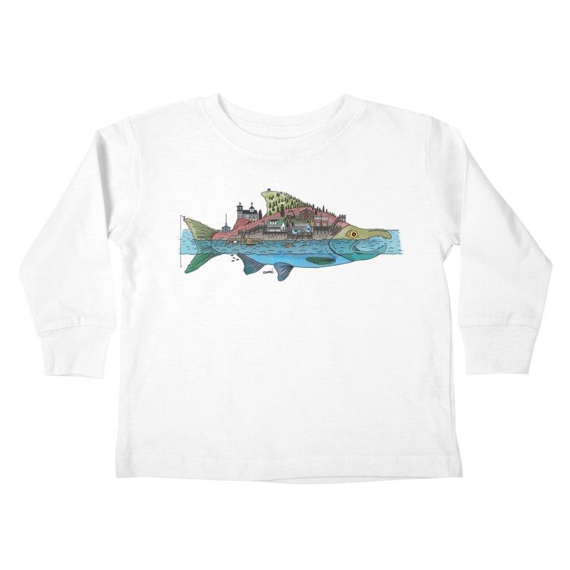 Seldovia Kids Toddler Longsleeve T-Shirt by Steger