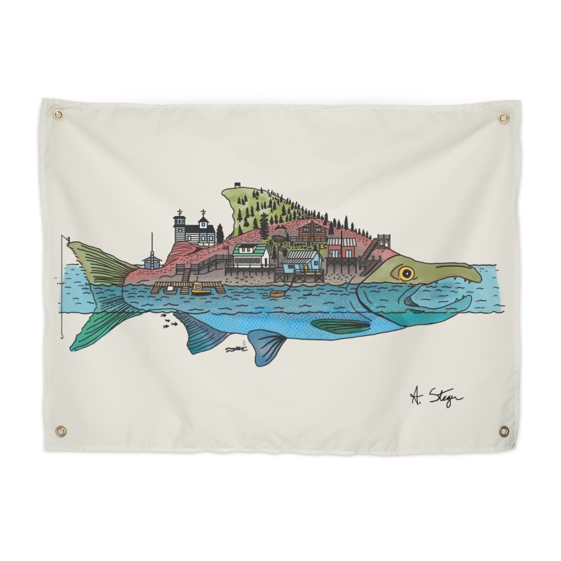 Seldovia Home Tapestry by Steger